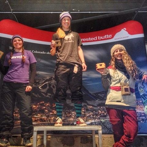 #PHGB athlete @erikathevikingvikander grabbing 3rd place at FWQ in Crested Butte today!!