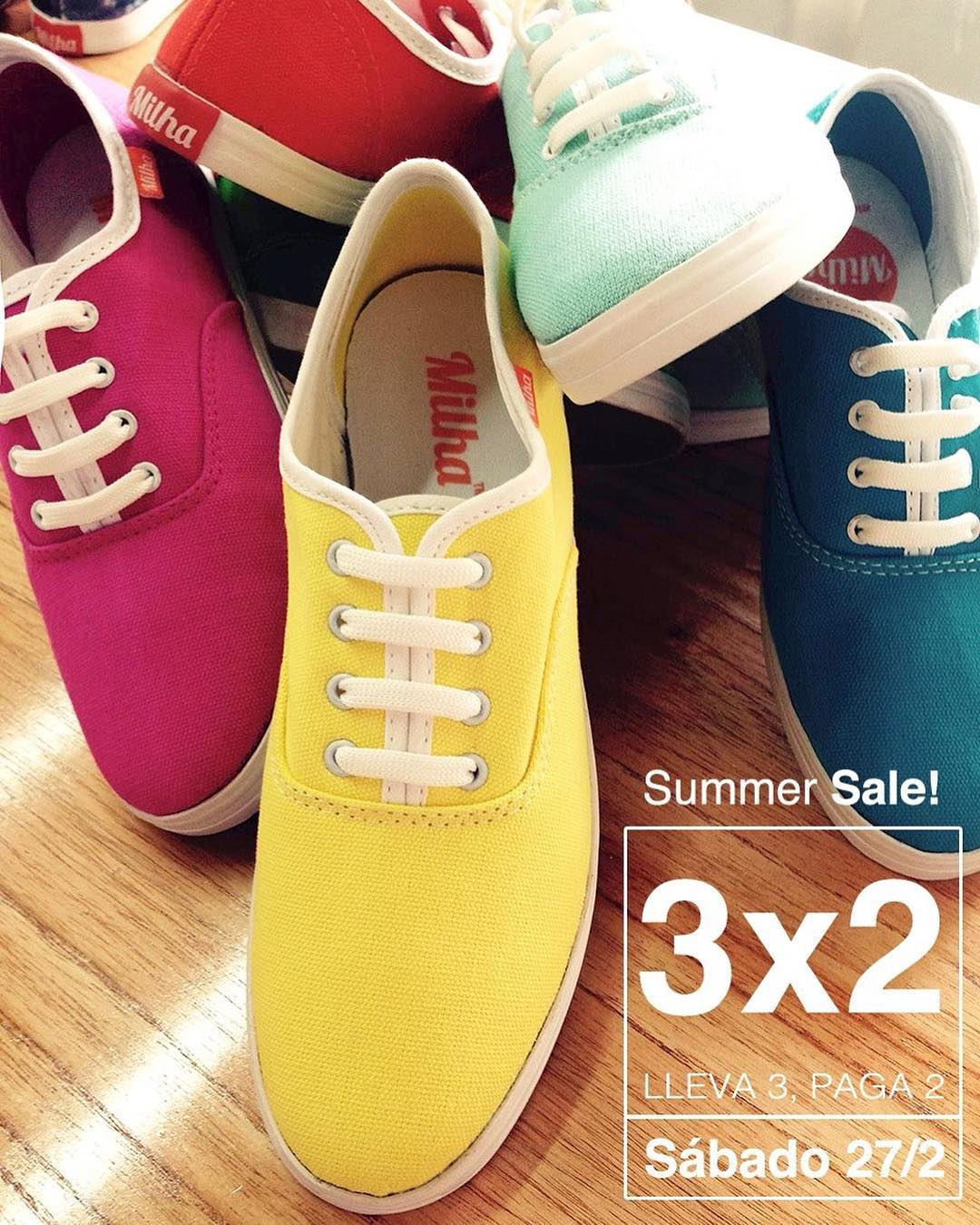 Hoy Summer Sale 3X2 !!!!! De 11 a 18 hs! Showroom Milha: Charcas 5258 of. 502 (Palermo). Te esperamos!!! www.milha.com.ar #milha #summer #sale