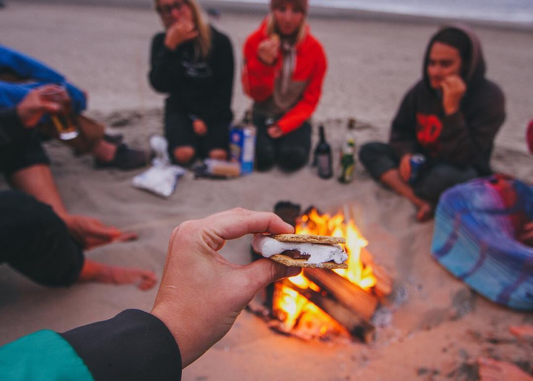 Just 4 days left to submit nominations for the first ever #Outdoor30Under30 list! Share s'more inspiration.  Photo by @findmeoutside. Outdoor30Under30.com. #MakeMovesAndCelebrate #smores