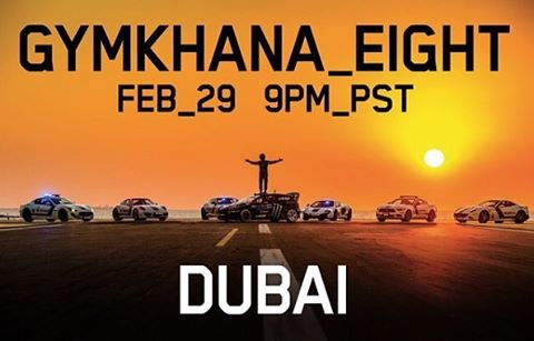 @kblock43's Gymkhana  EIGHT: The Ultimate Exotic Playground; Dubai debuts this Monday. Who's excited?! #DCShoes #GymkhanaEight #DCAuto