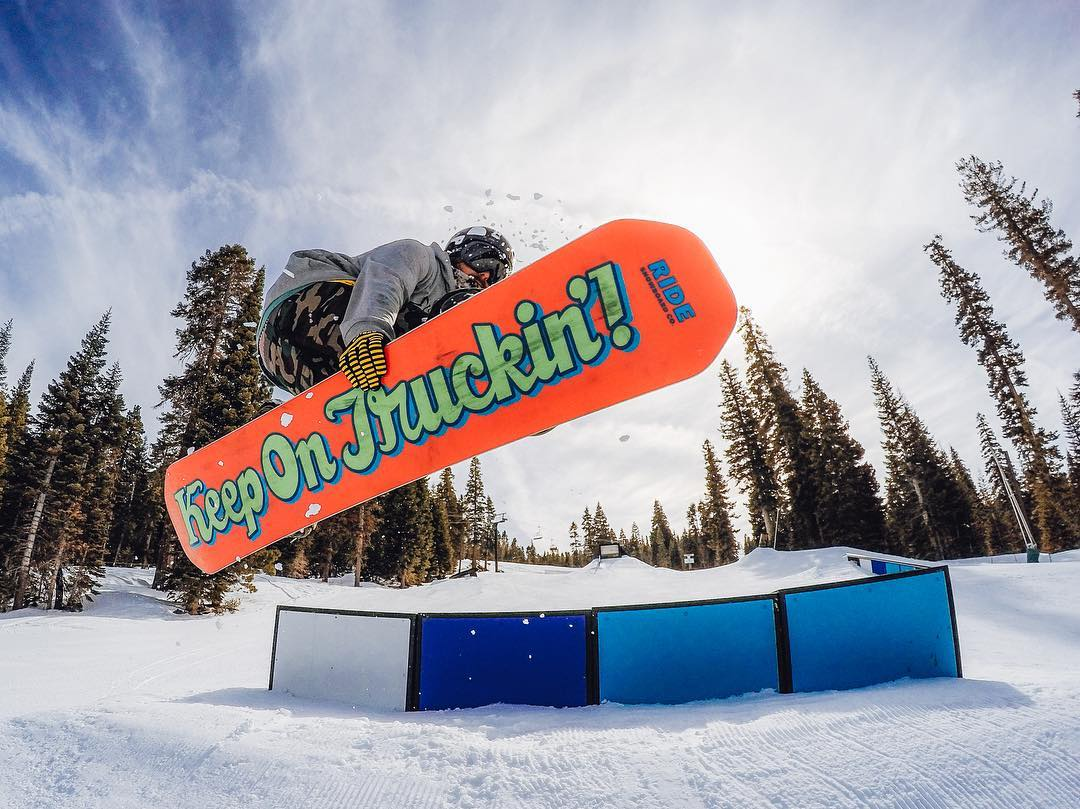 Want to win some #cashmoney? Hit up the #GoProPark at @skinorthstar (like @dannytoumarkine) and use #GoProPark #GoPro on your best photos on @instagram. Winners will get $1,000 cash + 2016-17 season pass. #