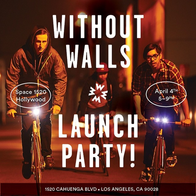 This Friday Night! @gowithoutwalls is having their #launch #party in #Hollywood come check out the #space!!