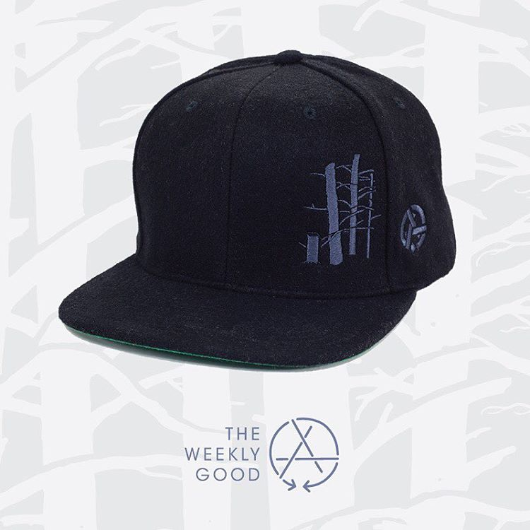 Cap your dome with the Weekly Good. The Sentinel Hat was designed by Adam Haynes (@stickfort) for the Pillow Dreams collection.  Top it off with this murder black wool cap and win the adoration of the people. Go here...
