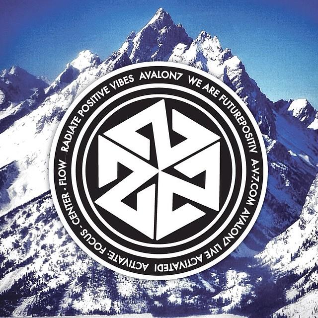 Radiate Positive Vibes! #avalon7 #futurepositiv #positivevibes #jacksonhole #tetons www.a-v-7.com