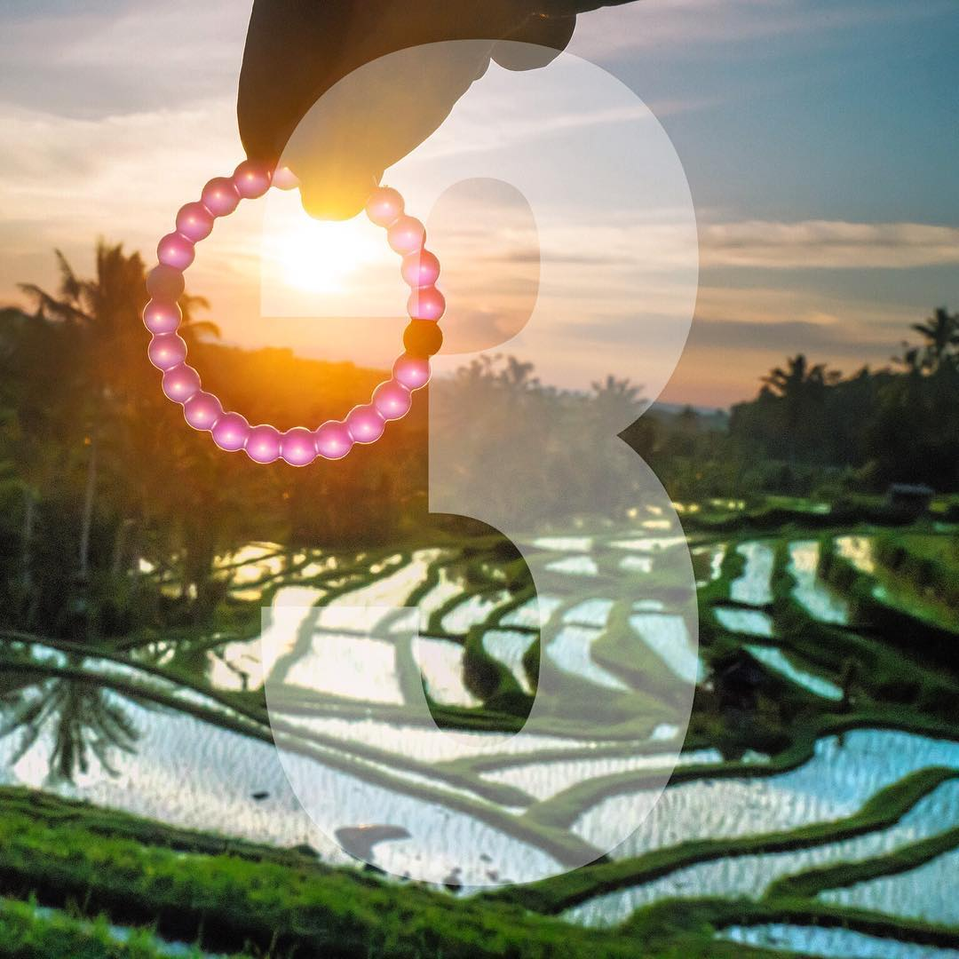 The grass is always greener... 3 days left to get the limited-edition Lokai! #fightformemories #purplelokai Thanks @ilhan1077