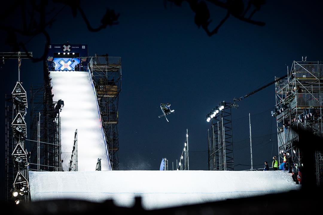@henrikharlaut1 went deep into the well of tricks tonight, pulling out a gold medal-worthy triple. #XGamesOslo