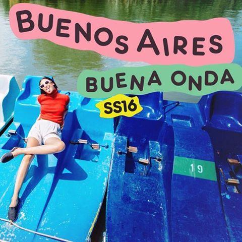 Hey Hey! Buenos Aires Buena Onda es nuestra nueva  Colección Primavera Verano 16. Europe* Por que nunca nos olvidamos de donde venimos