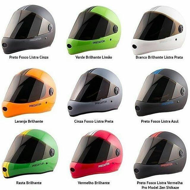 @Regrann from @letsdrop_longboard Choose your color -  Capacetes Fechados Predator DH6 Full Face! Disponíveis na nossa Loja Virtual