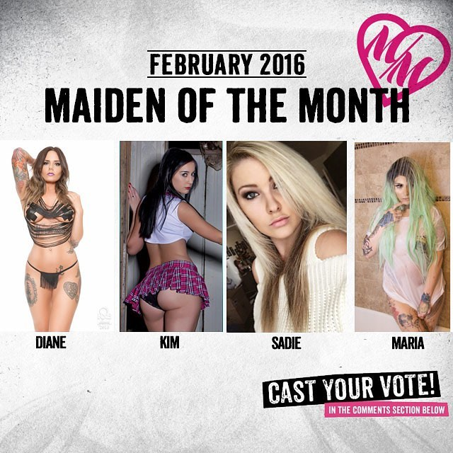 We need your #HELP choosing our @MetalMulishaMaidens of the #Month