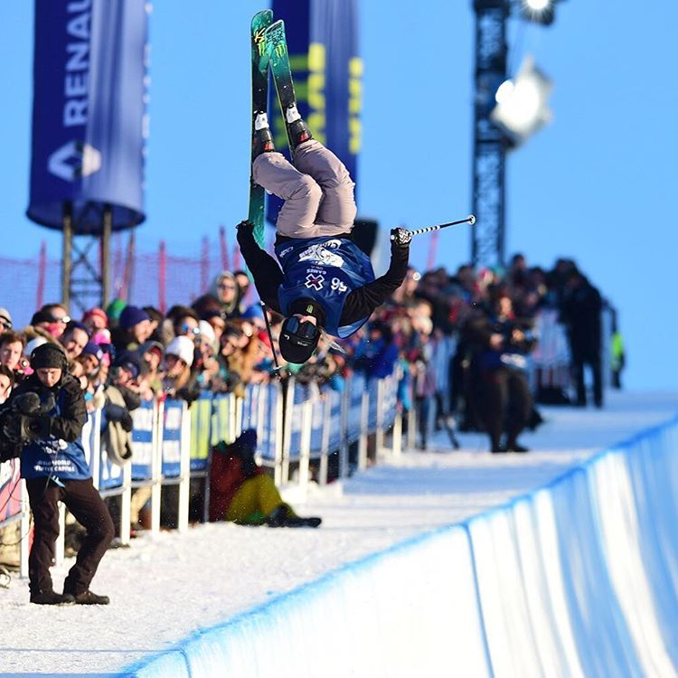 The 2016 #XGamesOslo Women's Ski SuperPipe gold medalist is @cassiesharpe!  Head to XGames.com for the highlights. (