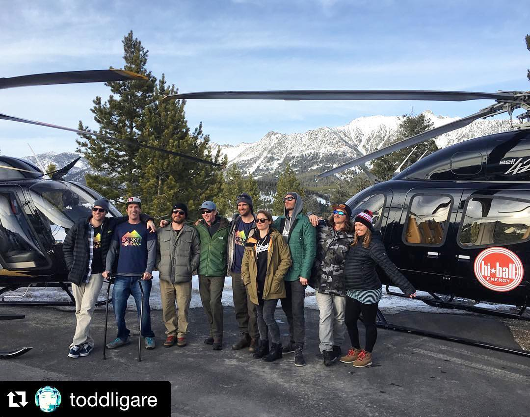 "#WhatHeSaid @toddligare: ""Solid crew in Montucky - #ScotSchmidt @hiballenergy @ingridbackstrom @ralphbackstrom @cartercountry @dlonge @robinvangyn @austinross88 #grantkorgan  #HiballBigSky2016 ..."" Mega honored & stoked to make all-time memories with..."