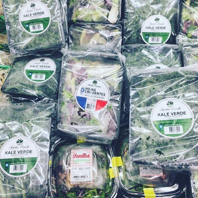Venden #kale en el walmart soy la mujer mas feliz del mundo! chau barrio chino