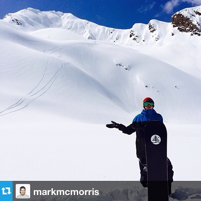 Perfect day in paradise! #powday #Repost via @markmcmorris