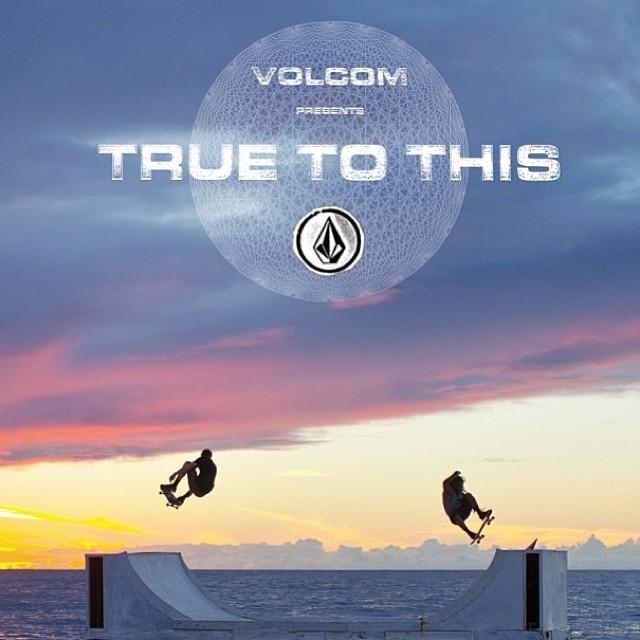 #theworldofvolcomstone #volcom #truetothis