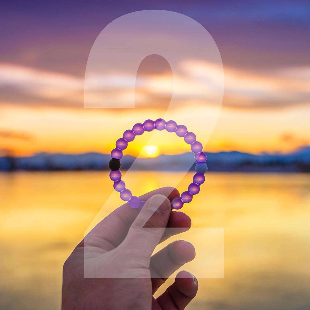 You have until tomorrow, midnight PST to show your support for @alzassociation! Head over to mylokai.com to get your purple Lokai #livelokai Thanks @davie8thebaby