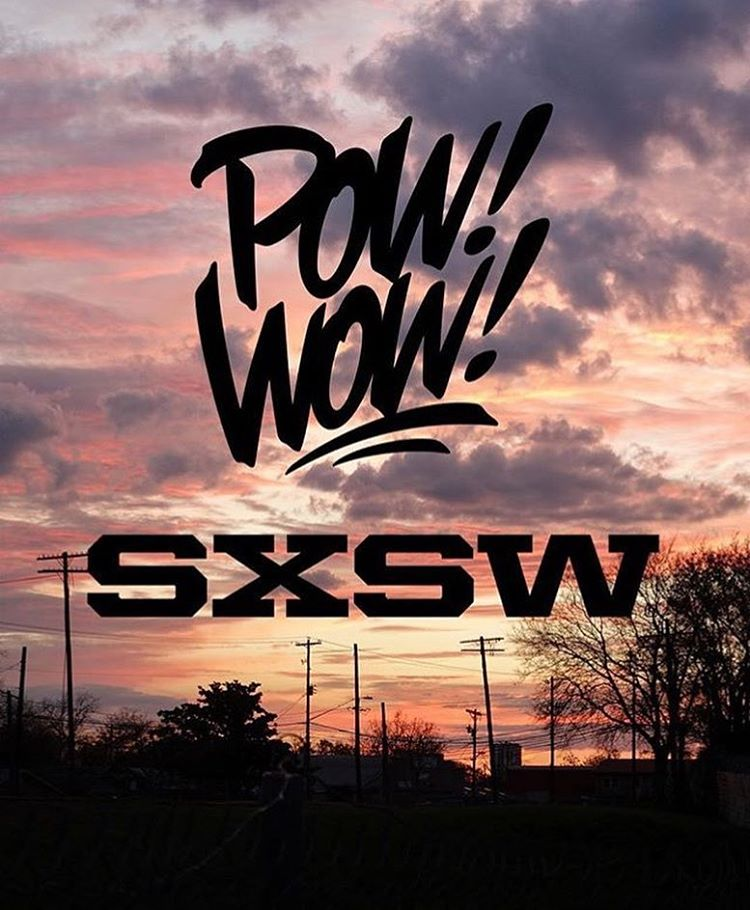 "Ah shit.  Wait till you see what artists we throw into the mix this year!! • • ""Impossible walls"" • • #atx #austintx #texas #tx #spratx #powwow #sxsw"