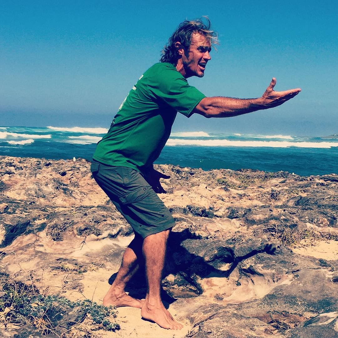Wrapped up @wanderlustfest  Oahu by taking a historic walk along the coast with Ian ʻAkahi Masterson, (AKA The Surf Professor)