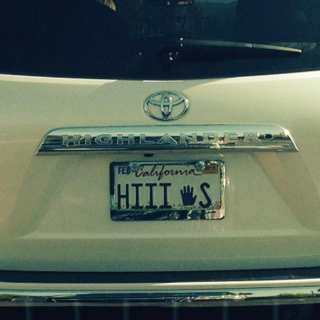 Doug Lewis Captured this CA License Plate | #theyknow