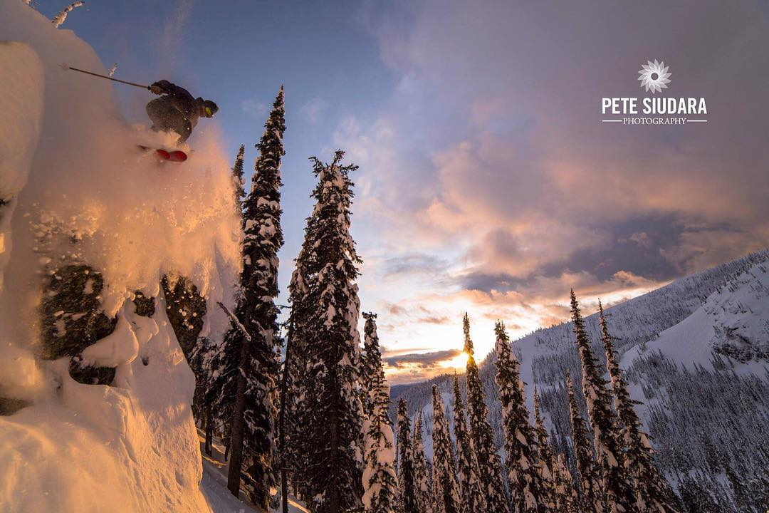 It's a Leap Day... Go leap off something!  #TribeUP Leap Day!  Skier: @m_young79  Photo: Pete Siudara  #PandaPoles #PandaTribe