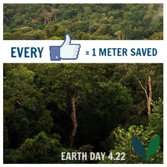 Help us save the birthplace of VEEV, the Brazilian rainforest. For every new like on facebook.com/VEEV  they will preserve one square meter of rainforest with Cuipo from now till April 22nd. @VEEV #VEEV #CUIPO #SAVERAINFOREST