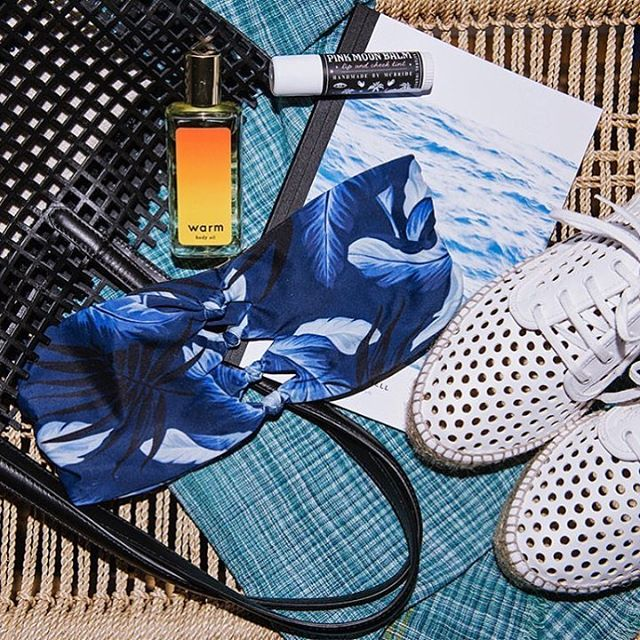 It's in the (beach) bag // AllSwell keeping good company thanks to our stockist and store crush @warm_ny #gowhereitswarm #AllSwell