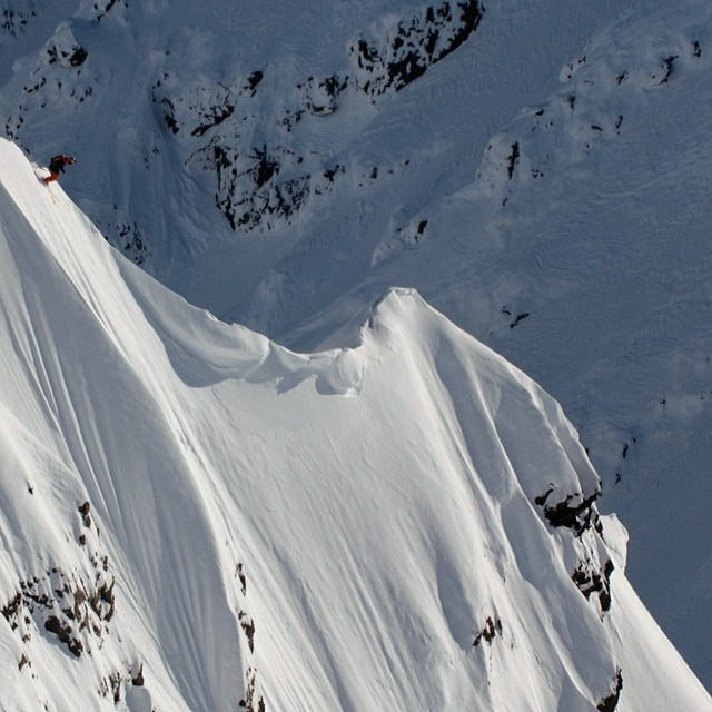 Would you?  Click the link in our profile to watch @markus__eder rip fresh Alaskan lines in the latest #DOMY2014