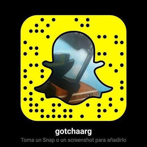 Gotcha is on #snapchat