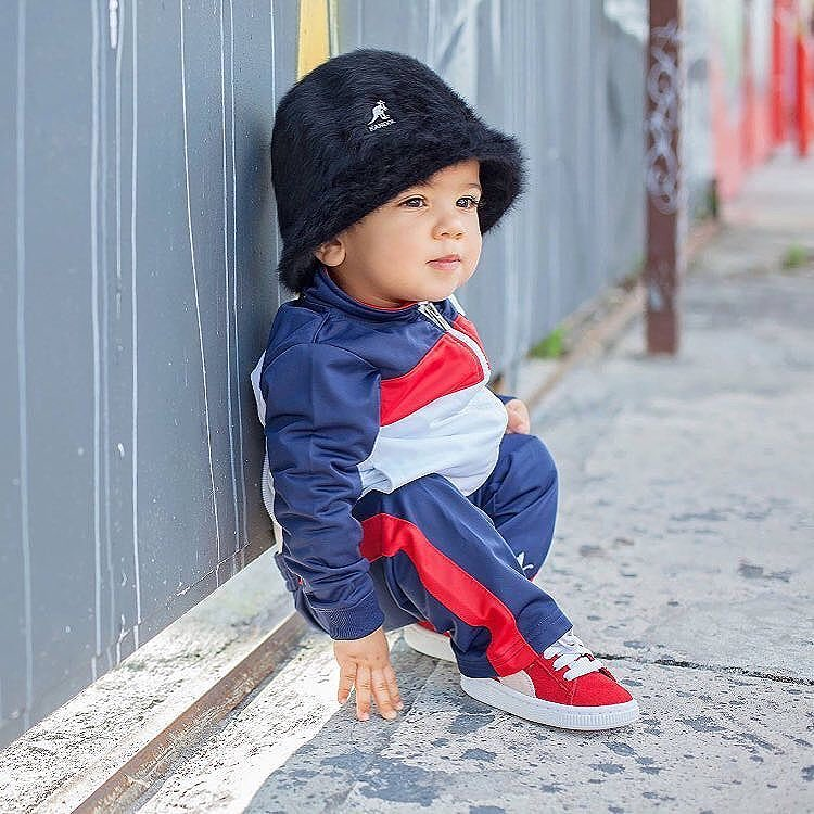 Get 'em started early#kangol via @fotosdemivida