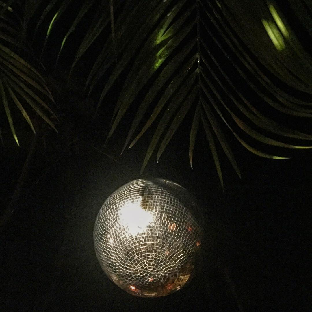 Can't get enough of this disco ball #junglebeats #discodisco #Tulum #Mexico