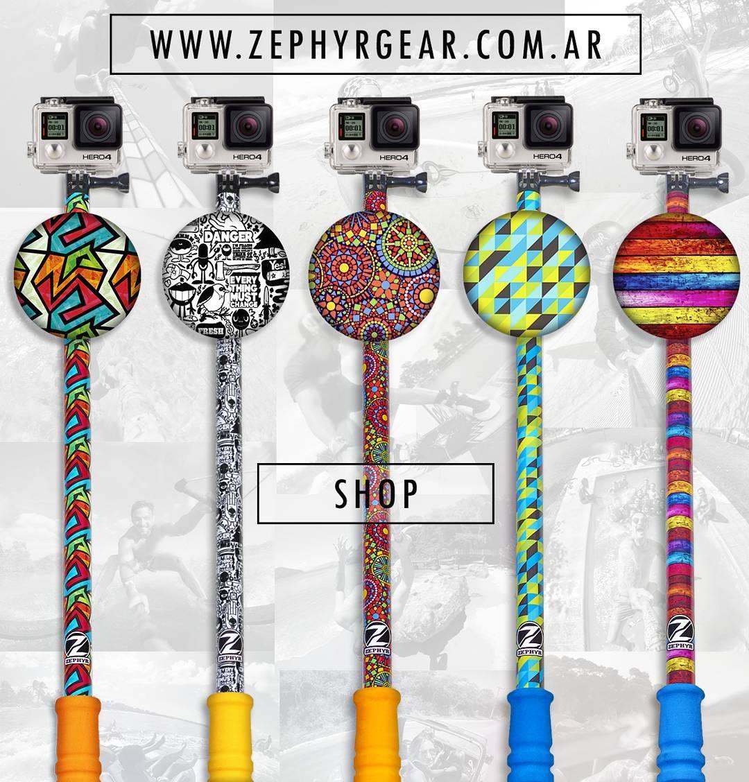 Compra en nuestro #ShopOnline con envio a la puerta de tu casa! www.ZephyrGear.com.ar  #ZephyrPole #GoPro