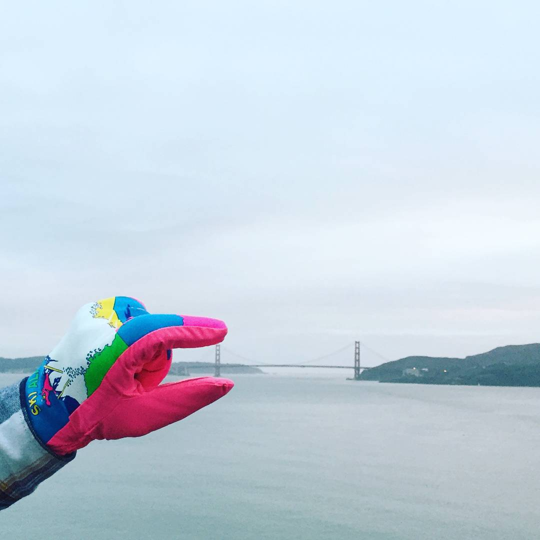 In case you need some help with sizing, our XL gloves are roughly 7 times larger than the Golden Gate Bridge.