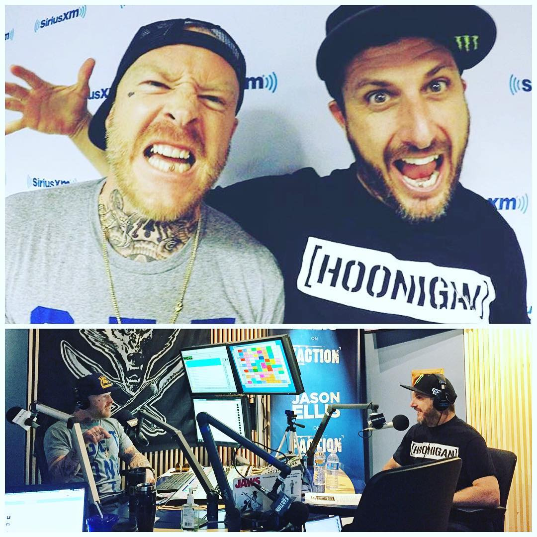 Just wrapped doing the Jason Ellis show with my good buddy @Wolfmate. We chatted about #GymkhanaEIGHT, life and a lot of funny memories. Thanks for having me today and thanks for hosting our Q&A at the premiere last night! #oimate #metalteeth