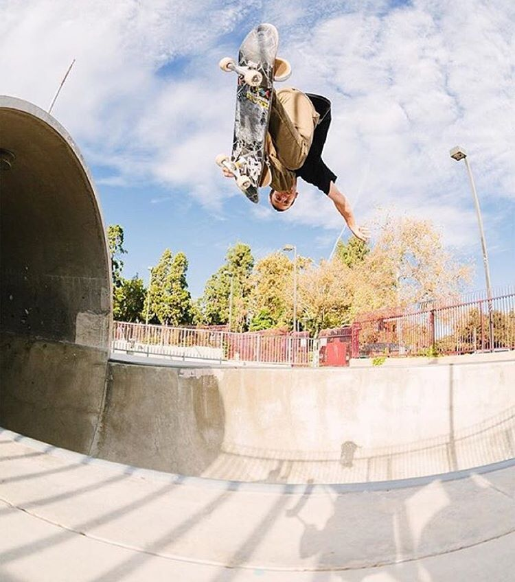 @tristanrennie backside air at Upland.