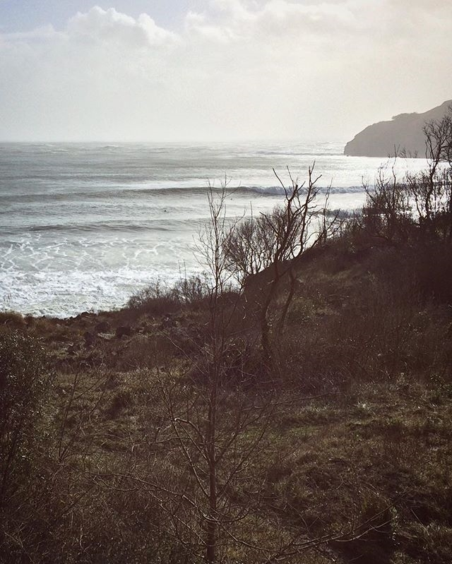regram @_thegreenwave_ Reminiscing the stormy days. That day. The day of days.  Watch our #wintersession 'Miles from nowhere' on @magicseaweed now!  #thegreenwave #sustainablesurfing #surferswhocare