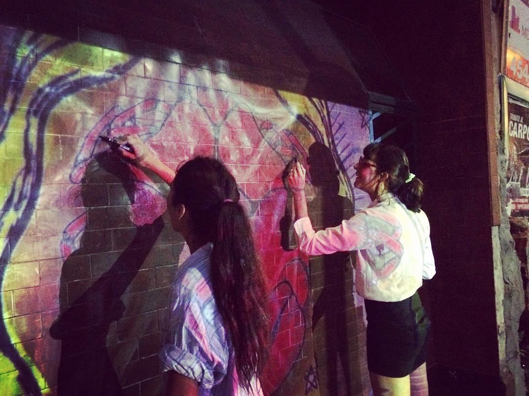 Arranco Cangrejos! #darte #mural