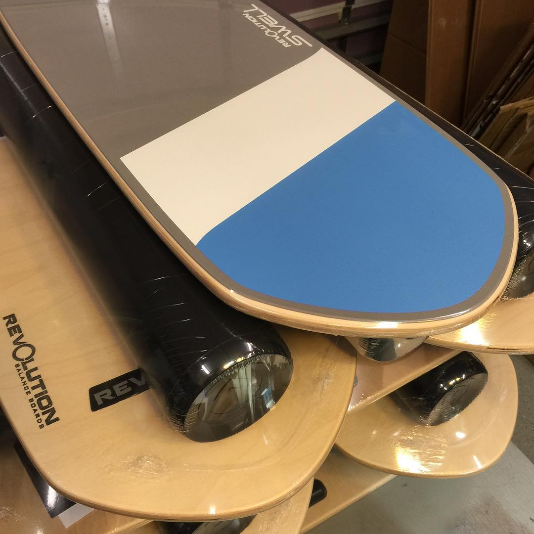 Revolution Swell's ready for shipment!