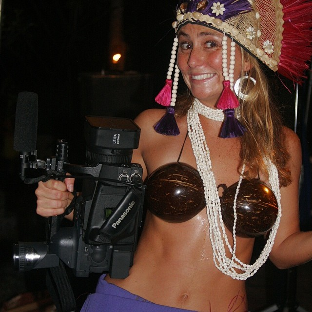 What do you get when you combine a film maker with a hula dancer???