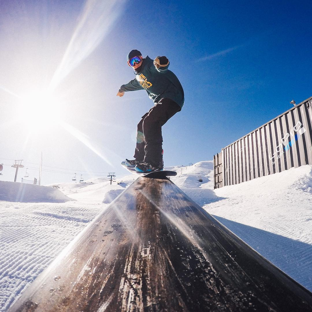 We want YOU to shred the #GoProPark at @sunvalley! Stomp your best trick, capture it on your #GoPro, use #GoProPark and #resortname and they'll pick a winner to receive $1,000 and a 2016-17 season pass! #