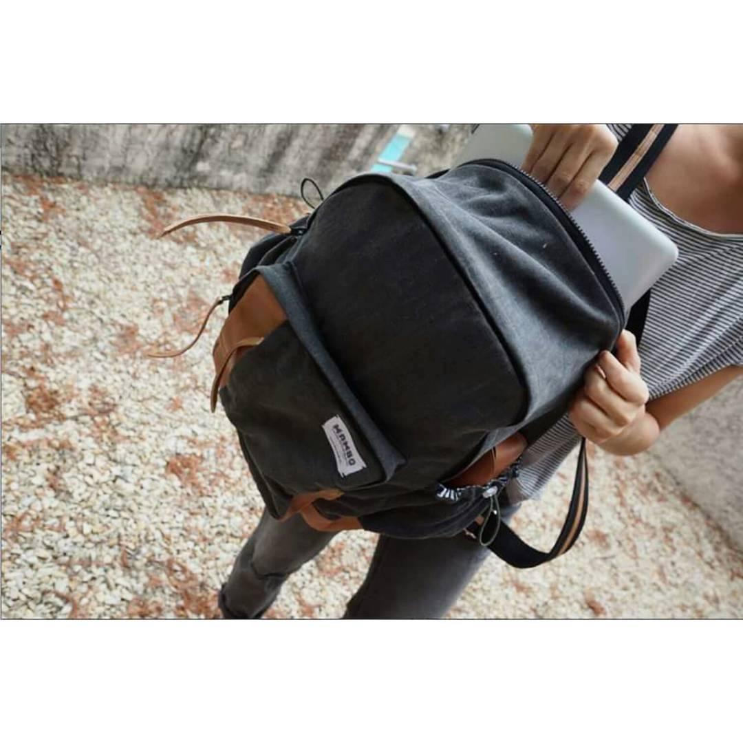 Nueva mochila ATLÁNTICO // Doble cierre y bolsillo especial para la compu!