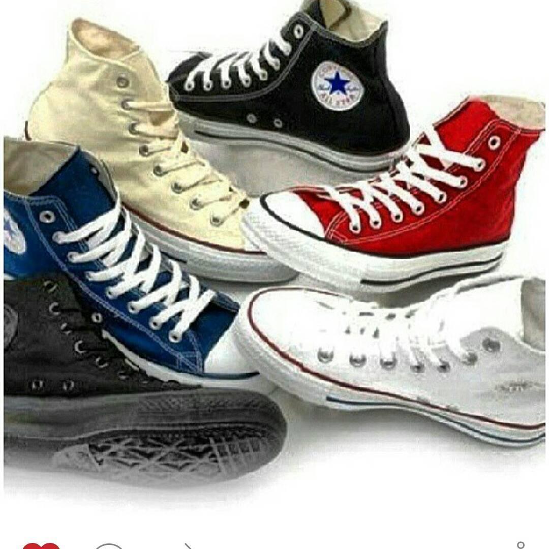 Todos los colores y talles #converse #allstar #chucktaylor