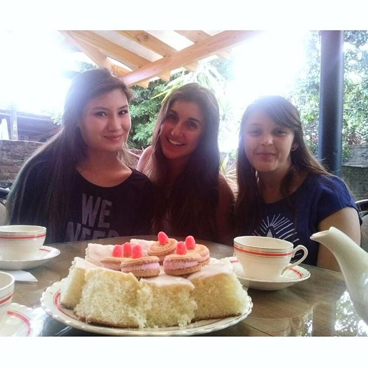 Tea time. #teatime #earlgrey #horadelte #feliznocumpleaños #amigas #friends
