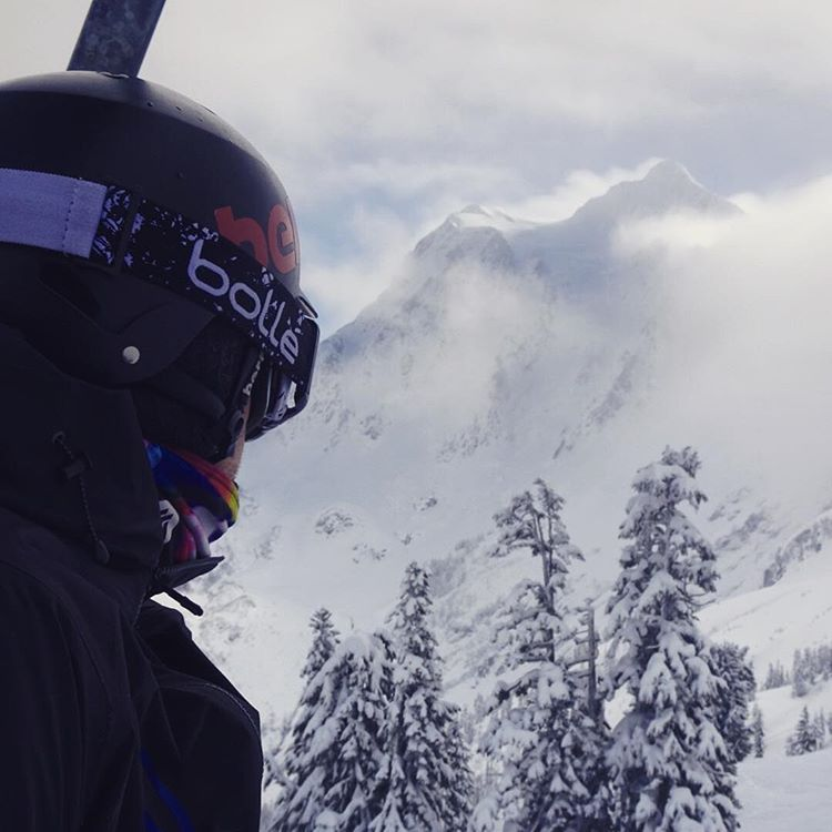 Create your future. @rosspowers on the chair at Mt Baker. #avalon7 #liveactivated #snowboarding #followthestoke