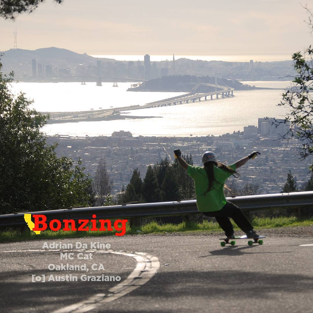 Wallpaper Wednesday March!  Get the high resolution photograph for your phone background from the link in our bio!  The San Francisco Bay area is a great place to skate! We are settling into our new digs and enjoying the hills in our area. Team rider...