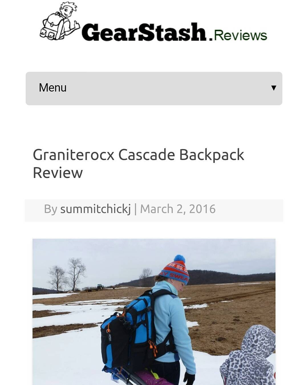 Check out the most recent review of our Cascade backpack and cooler! Thanks @gearstash and @summitchicks!  Go to www.graniterocx.com/gearstash  #reviews #getoutside #backpacks #coolers #gearstash #summitchicks #graniterocx #outdoorsrocx