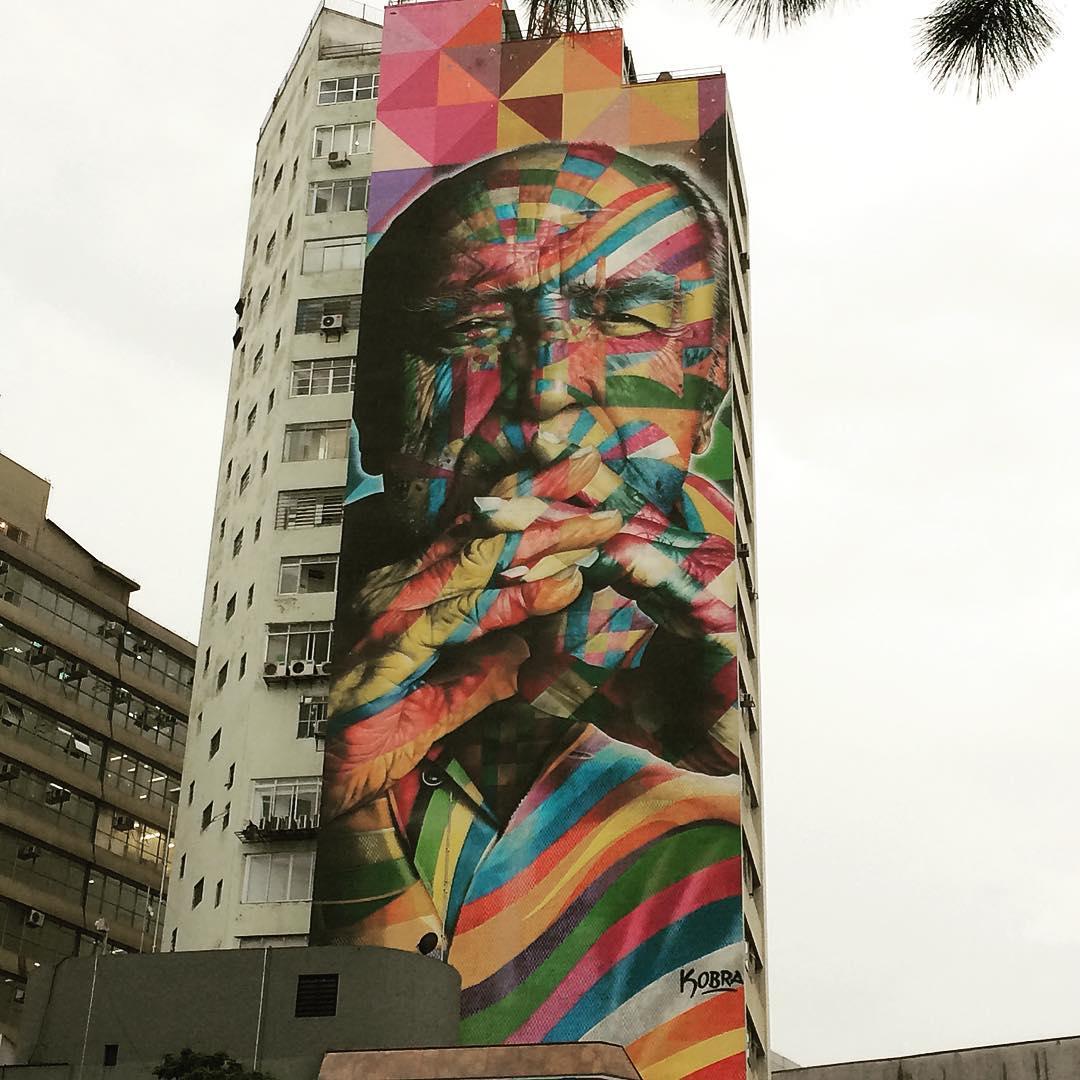 #oscarniemeyer #streetart #saopaulo @oscarniemeyer #genio de la #arquitectura