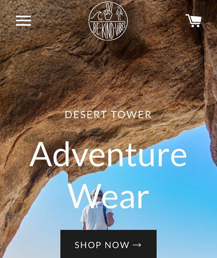 Sneak peak of our new website launching later this week! We're pretty stoked about it, and think you will be too! -------------------------------- #bekindvibes #bekindtribe #consciousadventurer