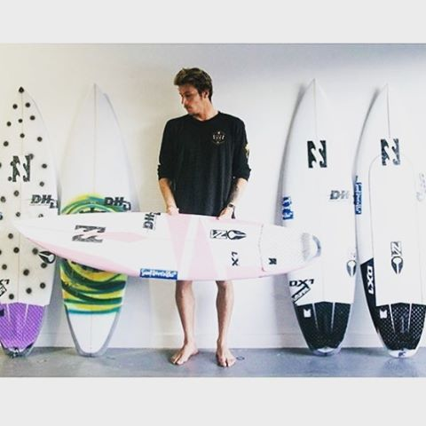 One week out from his debut on the 2016 World Tour and @jackfreestone's quiver is dialed. Visit @surfline to see which blades he will be riding from @dhdsurf. #WeBackJack
