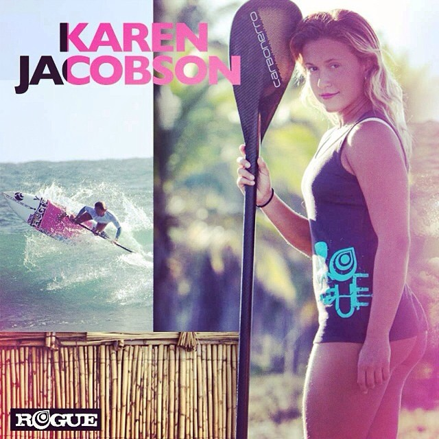 HAPPY BIRTHDAY KAREN!! Rogue Ambassador Karen Jacobson is celebrating the right way!!! .... In the ocean and on the beach.  IS THERE ANY BETTER WAY? @karencjacobson @karencjacobson