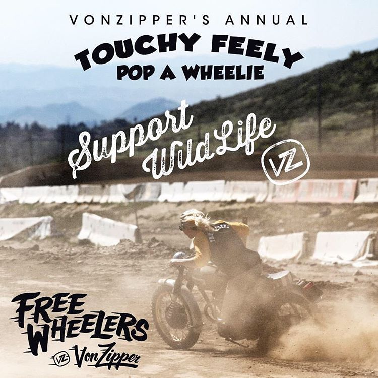 "March 6th @orlandomxpark we are holding our next stop of the wildest wheelie event you've been to! The #VonZipper 'Touchy Feely Pop A Wheelie"" is kicking off at 10am-2pm. Come hang, demo a pair of goggles and get a free VZ hat, and meet the team!..."