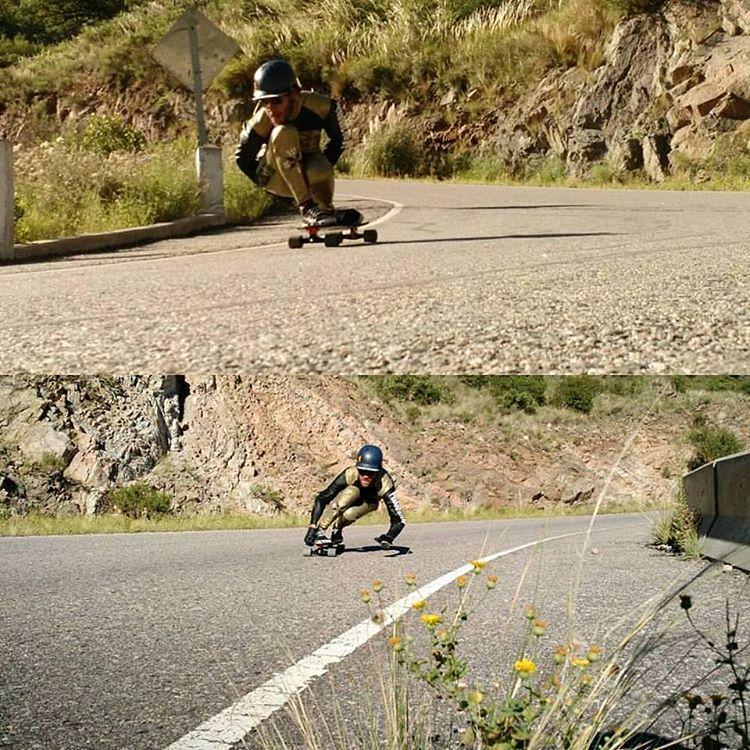 ¡Santi Obermeller ajustando!  #WikaSport #DownhillSkateboarding
